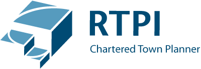 RenPlan Planning, Design & Renewable Specialist and members of RTPI Chartered Town Planner Logo