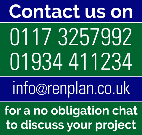 RenPlan planning design consultants North Somerset Bristol contact us cta