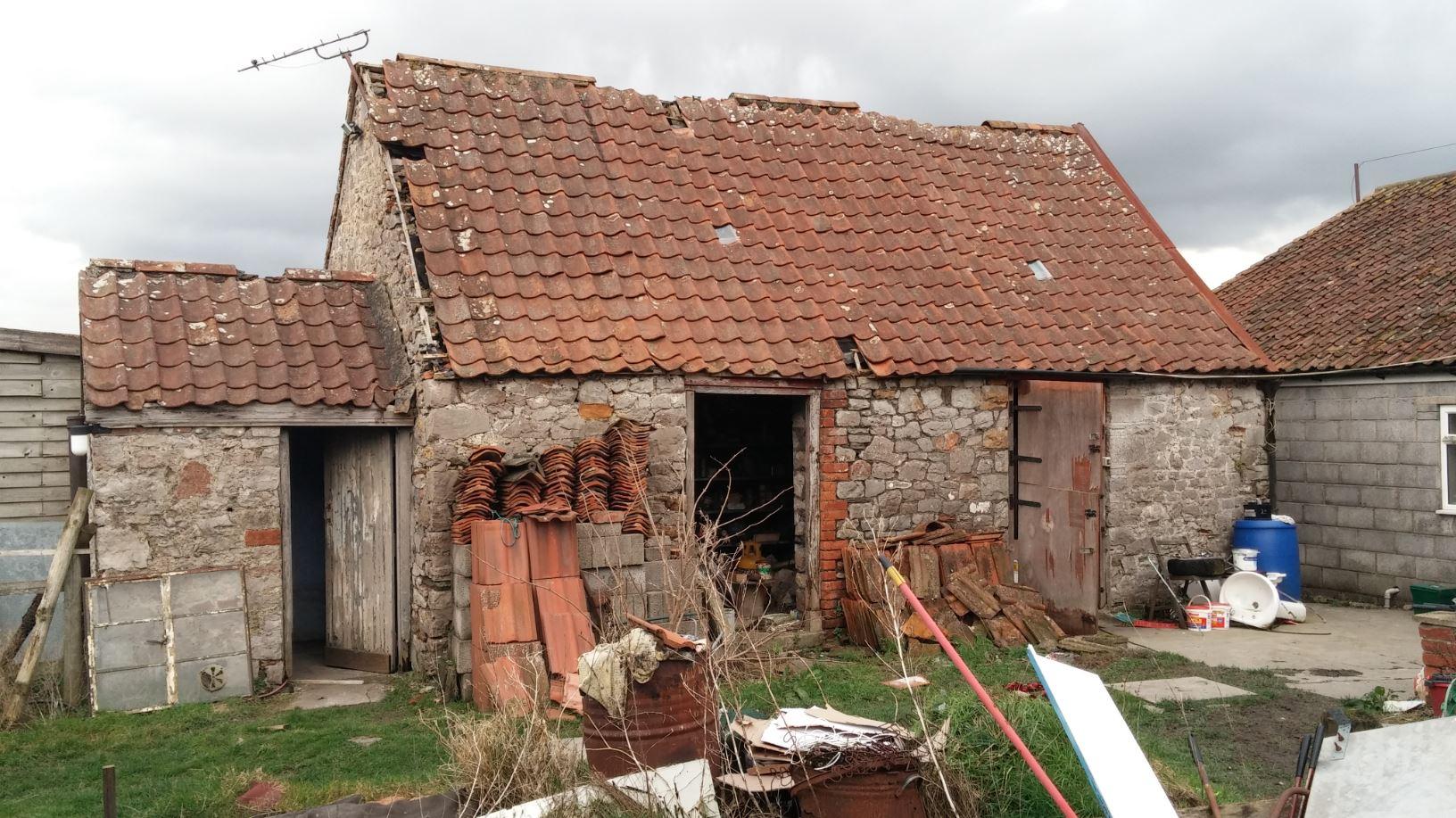 Barn Conversion in the Flood Zone - photo taken pre-application